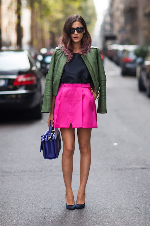 2 - colores vibrantes fashion-2015-09-fall-color-hot-pink-army-green-stockholm-streetstyle-main
